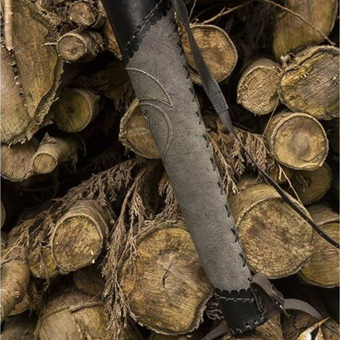 Epic Armoury Köcher Bogenschütze grau-schwarz
