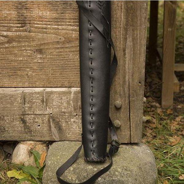 Epic Armoury Carquois Robin Hood, noir