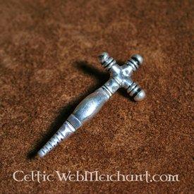 No início fíbula cruz medieval
