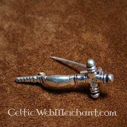 Early medieval cross fibula