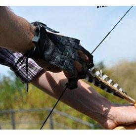 Historisk bågskjutning handske