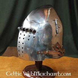 Marshal Historical Bascinet de finales del siglo XV, 2 mm