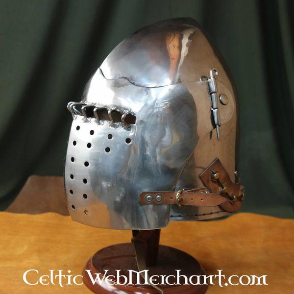 Marshal Historical Bascinet de la fin du XVe siècle, 2 mm