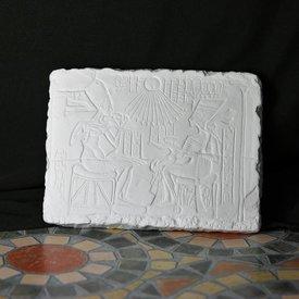 Relief Aton och Nefertiti
