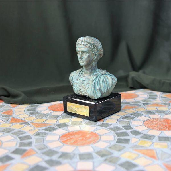 Opalony biust cesarz Tyberiusz
