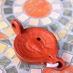Roman oil lamp Helios