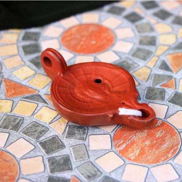 Lampada ad olio romana Elios