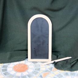 Single wax table Manesse Codex