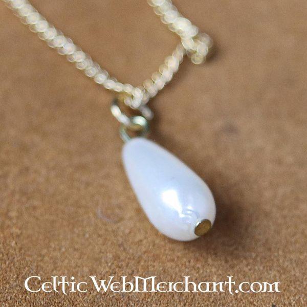 Tudor pearl necklace Elizabeth