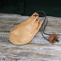 Roman skórzana torebka Barger Compascuum, jasnobrązowy