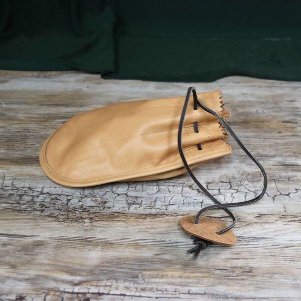 Roman leather purse Barger Compascuum, light brown