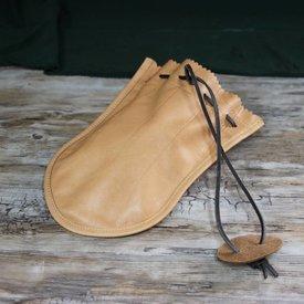 Monedero de cuero romano Barger Compascuum, marrón claro