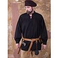 Burgschneider Renaissance Shirt Störtebeker, schwarz