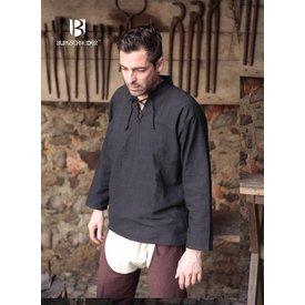 Burgschneider Skjorte Tristan, sort