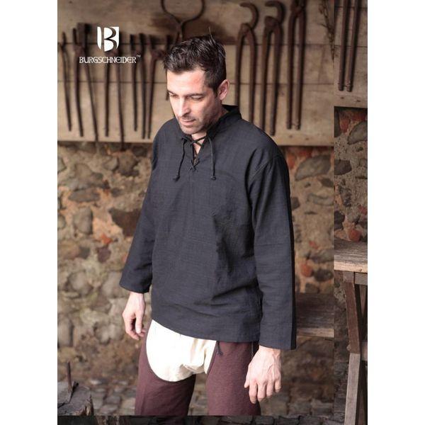 Burgschneider Hemd Tristan, zwart