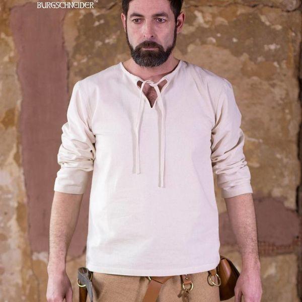 Burgschneider Shirt Ulrich, naturlig