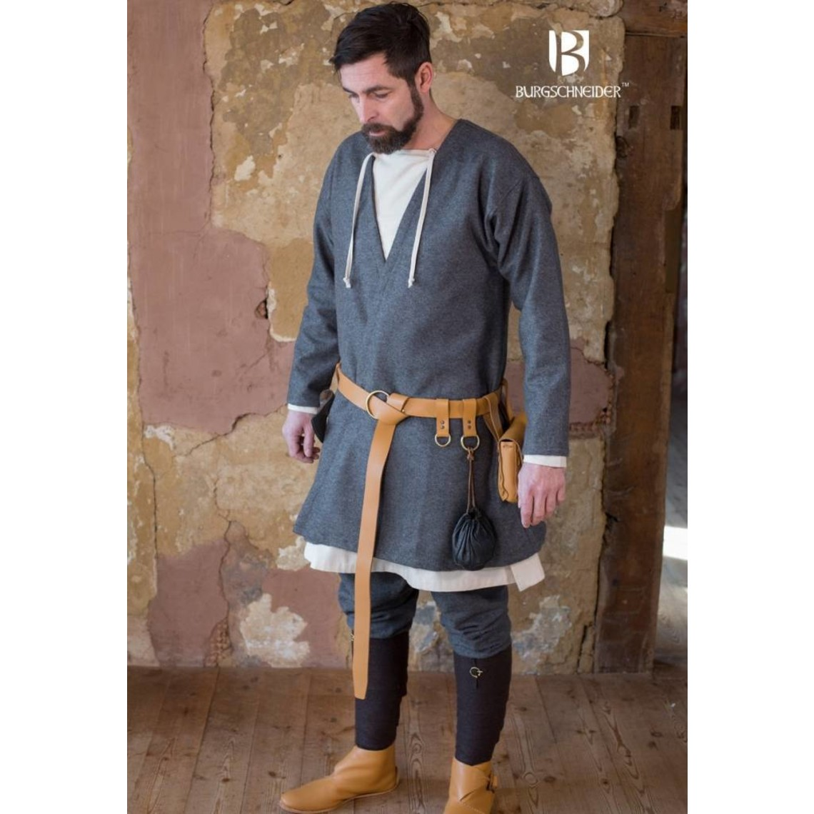 Burgschneider Viking kaftan Loki (grijs)
