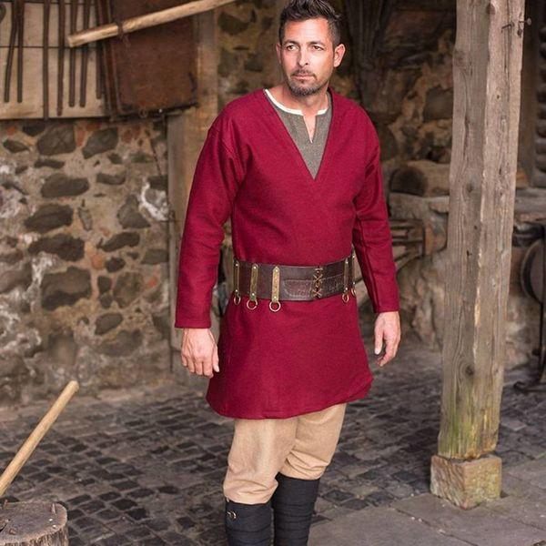 Burgschneider Viking caftan Loke (röd)