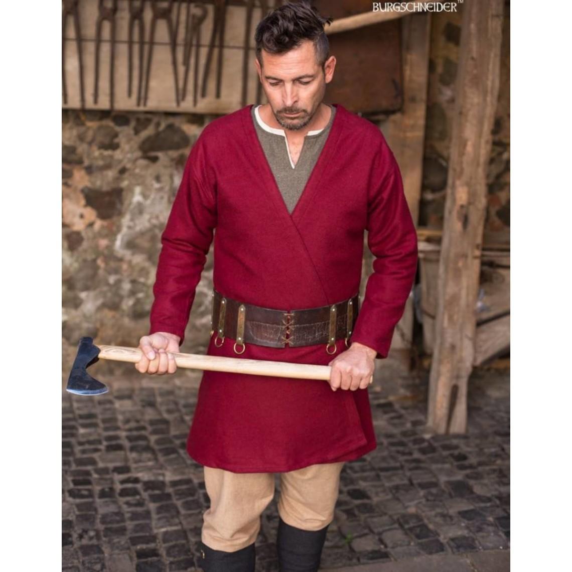 Burgschneider Vikingo caftán Loki (rojo)