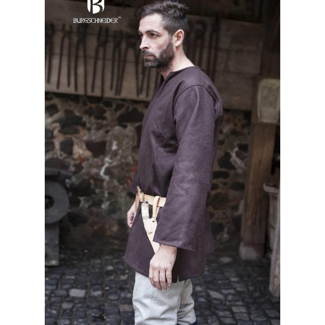 Burgschneider Tunica Lodin, marrone