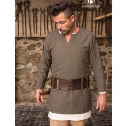 Herringbone tunic Tyr, olive grey