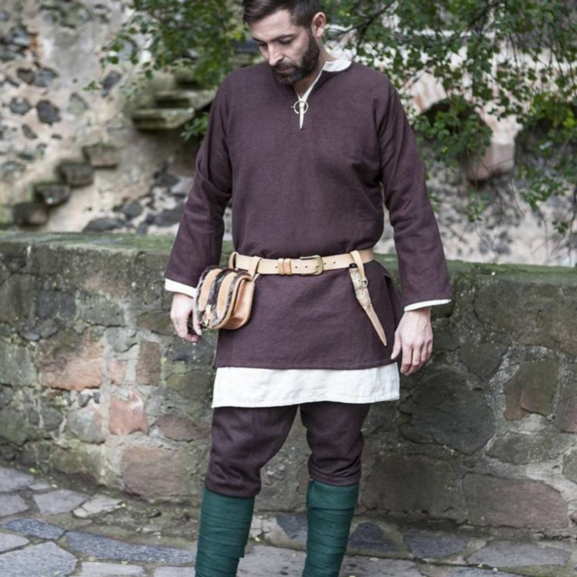 Burgschneider Tunica Erik, marrone