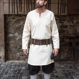 Burgschneider Tunica Leif, bianco