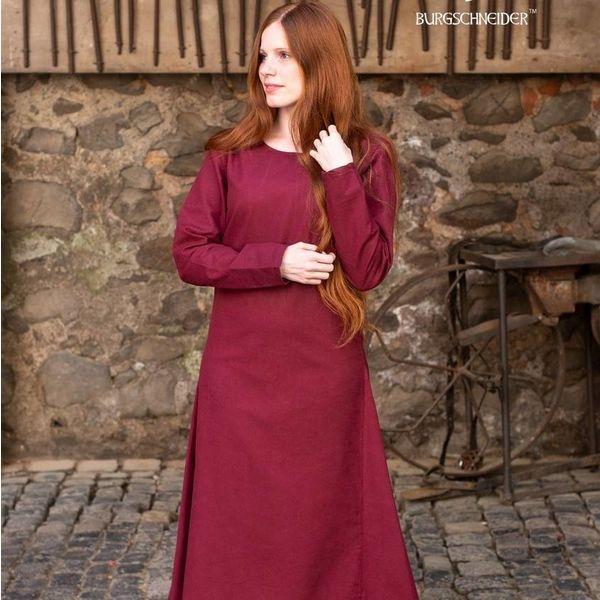 Burgschneider Medieval kjole Freya (bordeaux)
