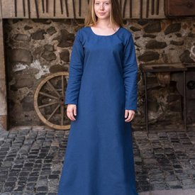 Burgschneider Medieval dress Freya (deep blue)