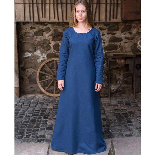 Burgschneider Medieval kjole Freya (dyb blå)