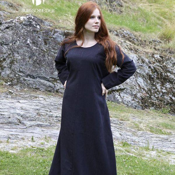 fea8f9a0 Middelalderlige sort Middelalderlige sort Kjole Freya Kjole Freya  Middelalderlige Freya Kjole 4ZwPnr4q6x
