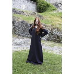 Mittelalterliches Kleid Freya (schwarz)