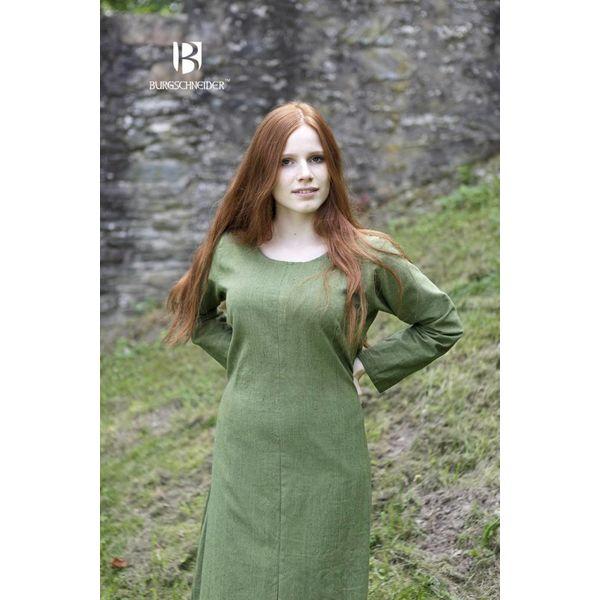 Burgschneider Medieval kjole Freya (grøn)