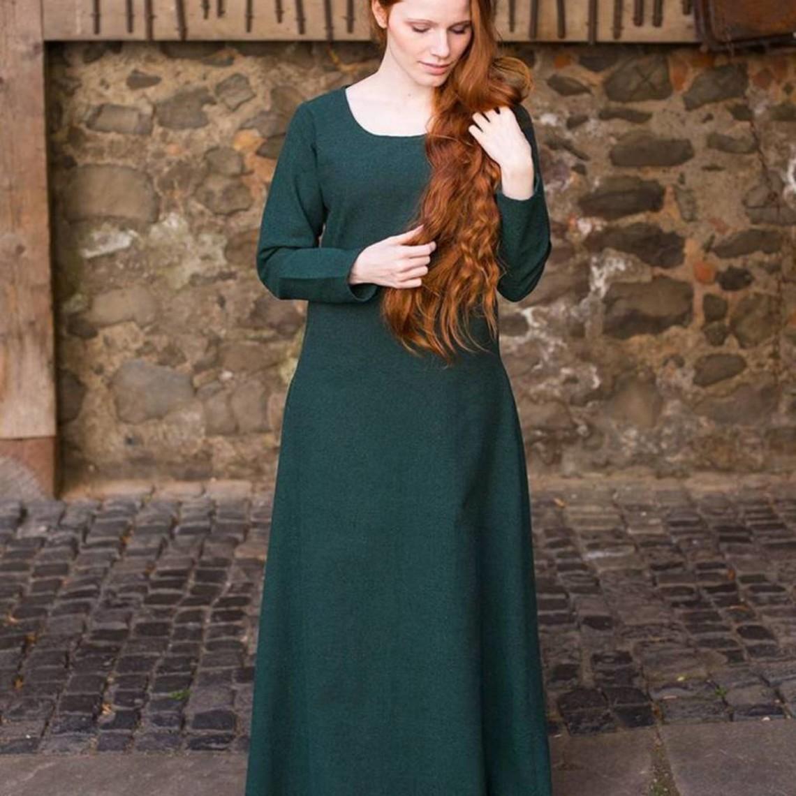 Burgschneider Robe médiévale Freya (vert forêt)