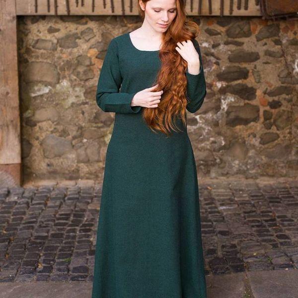 Burgschneider Medieval dress Freya (forest green)