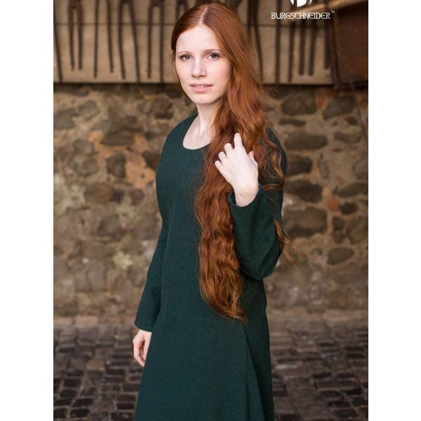 Burgschneider Medieval kjole Freya (skov grøn)