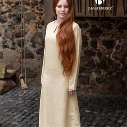 Medieval dress Elisa, natural