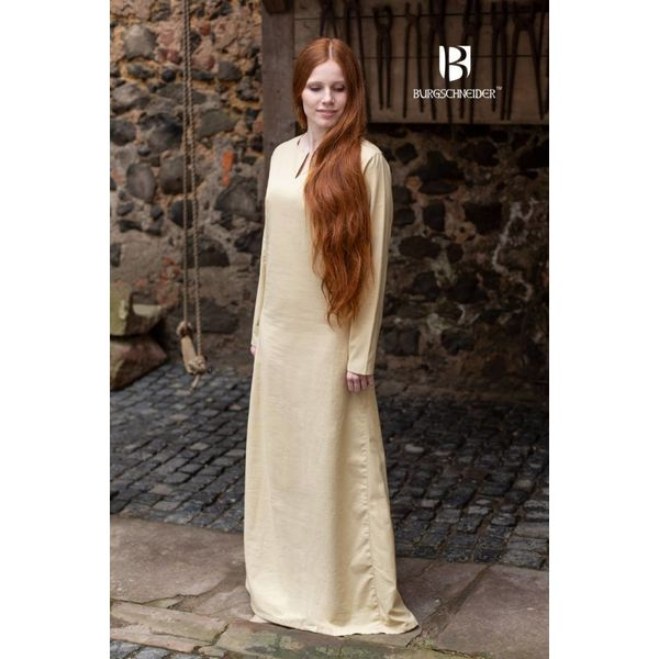Burgschneider Średniowieczny strój Elisa, naturalne