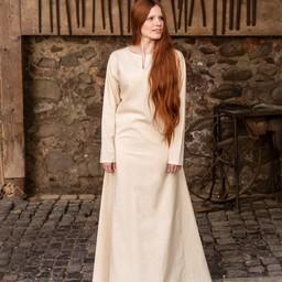 Middeleeuwse jurk Elisa, wit