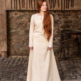 Burgschneider Mittelalterliches Kleid Elisa, weiß
