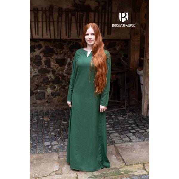 Burgschneider Middeleeuwse jurk Elisa, groen