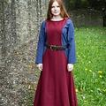 Burgschneider Surcot Albrun, rouge