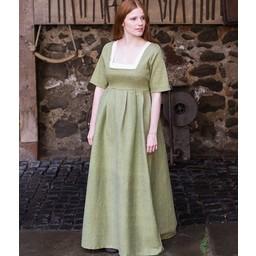 Średniowieczny strój Frideswinde zielony