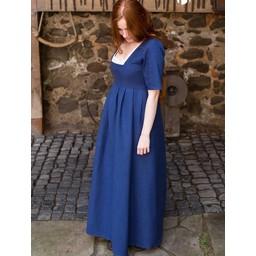 Średniowieczny strój Frideswinde niebieski