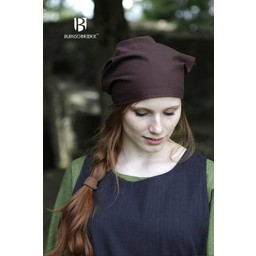 Vikinghoofddoek Marianne bruin