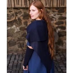 Schort Bertrude blauw
