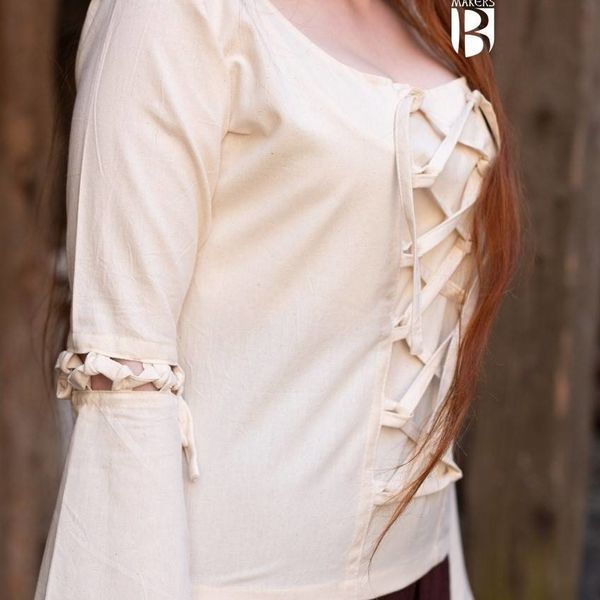 Burgschneider Blouse Ely, naturel