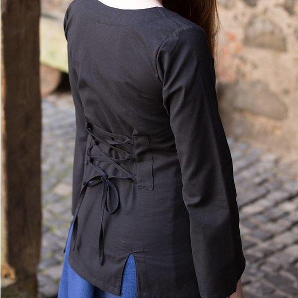 Burgschneider Blouse Lysia, zwart