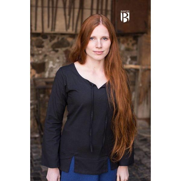 Burgschneider Bluse Lysia, sort