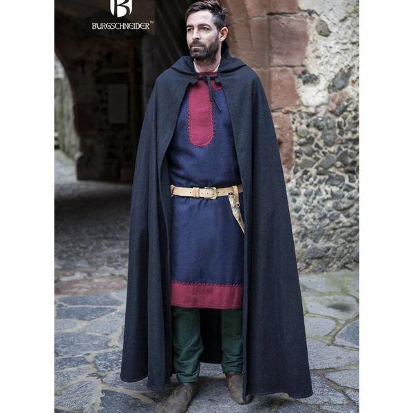 Burgschneider Mantel Hibernus, zwart